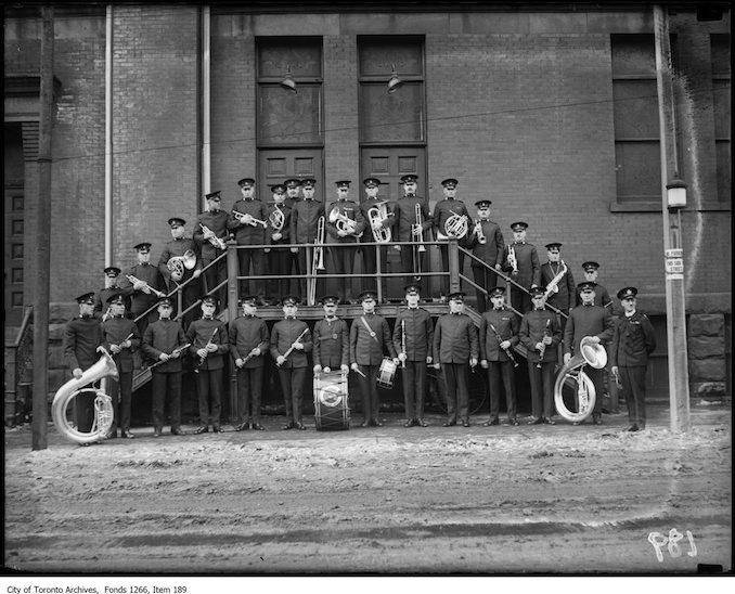 Toronto Police Band, Massey Hall. - February 2, 1923