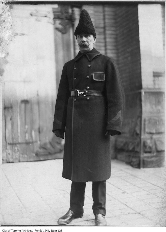 Toronto Police Inspector Gilks. - [1908?]