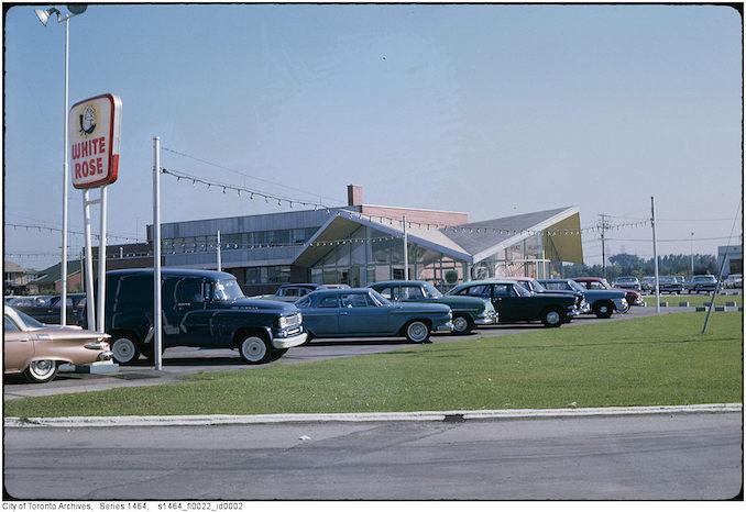 White Rose Car Dealership 1961