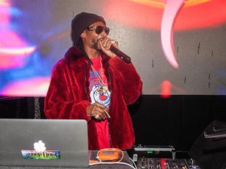 Snoop Dogg at CUBE Nightclub