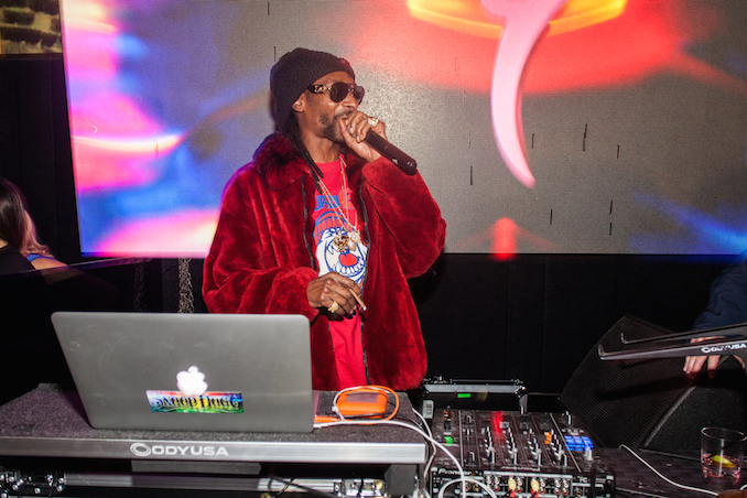 Toronto NBA All-Star Weekend with Snoop Dogg at CUBE Nightclub - Photo by Joel Levy