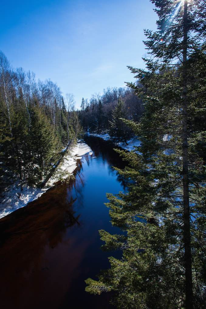 Arrowhead Provincial park for world's best ice skating by Joel Levy