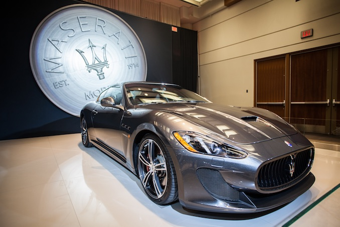 maserati canadian international auto show