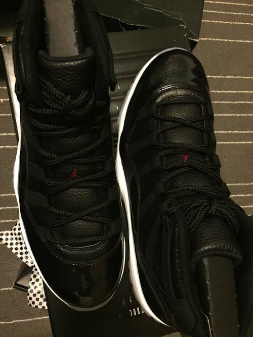 Nike Air Jordan (72-10) 11s. This pair is symbolic celebrating the most wins in a season with the 72-10
