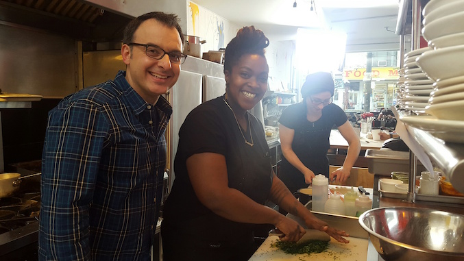 John Catucci and Suzanne Barr for You Gotta Eat Here
