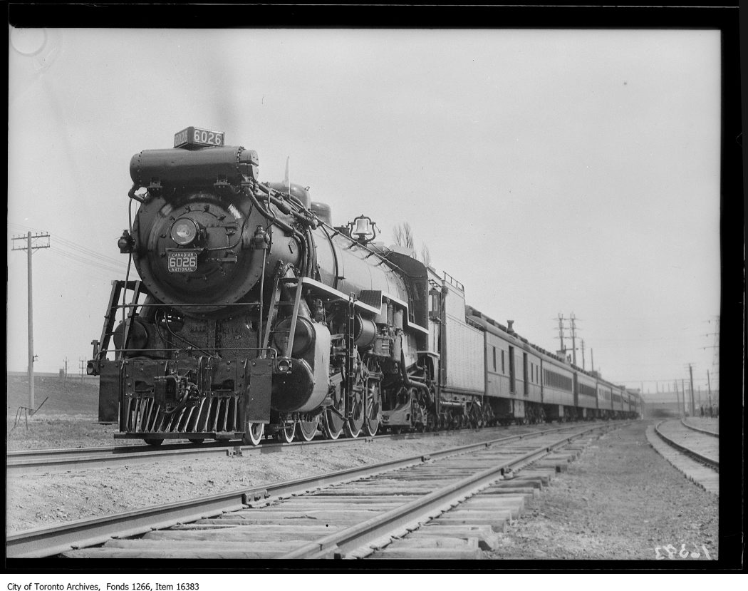 CNR train telephone, test train. - May 5, 1929