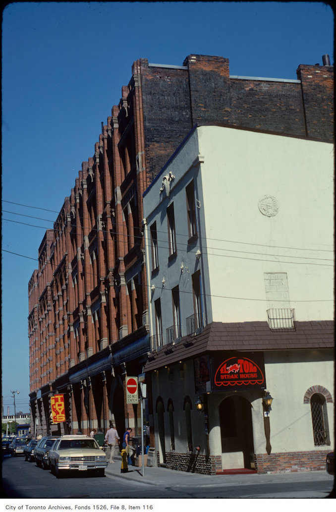 El Toro Steakhouse on Colborne Street - May 31 1979