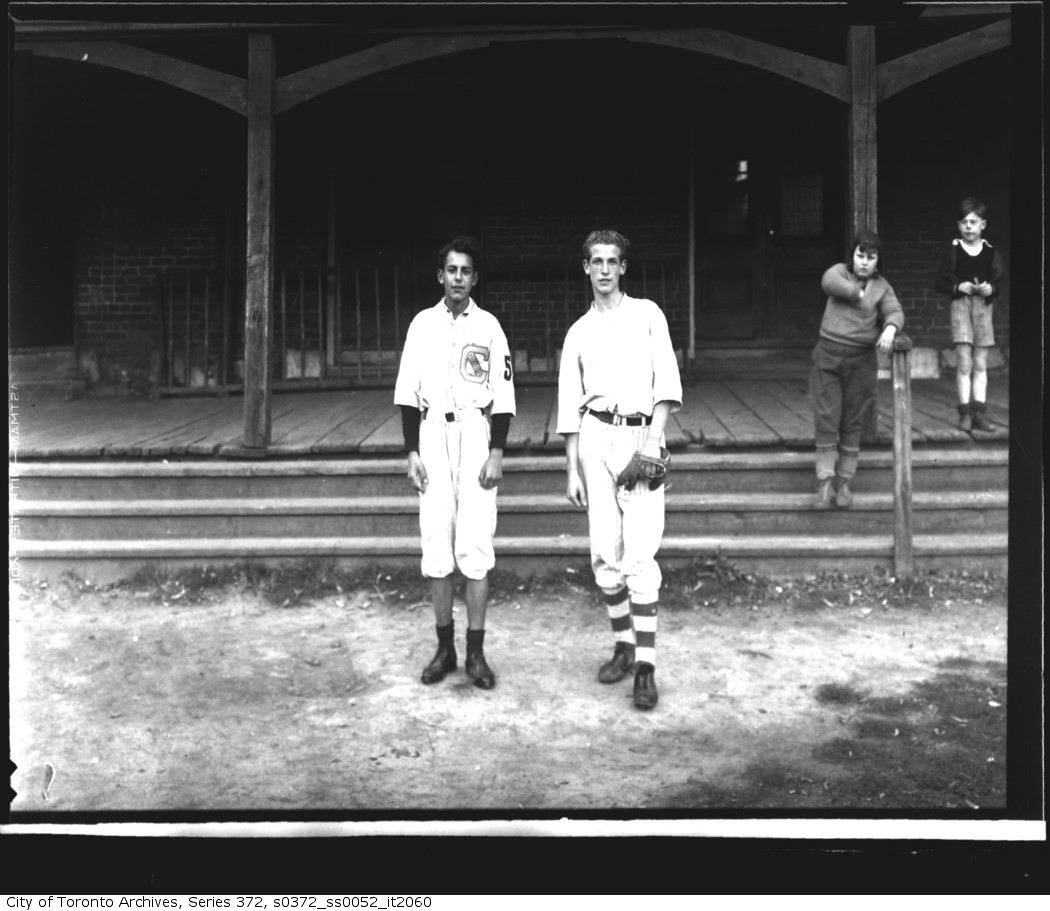 Elizabeth Street Playground Midgets — Playground, T.B.A. and Ontario Baseball Champions 1939 1939