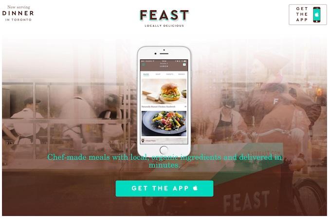 Feast App Toronto Apps