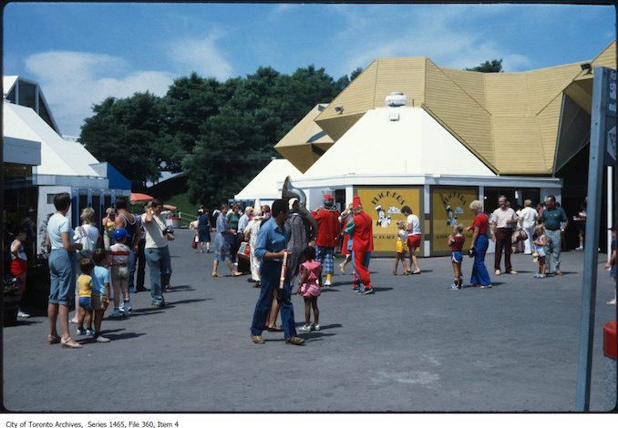 Flickers Restaurant at Ontario Place - 1980