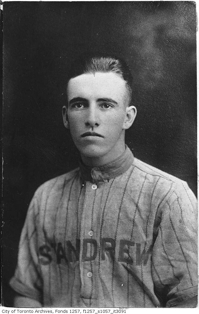 Fred Hamilton of St. Andrew baseball team 1900-1930