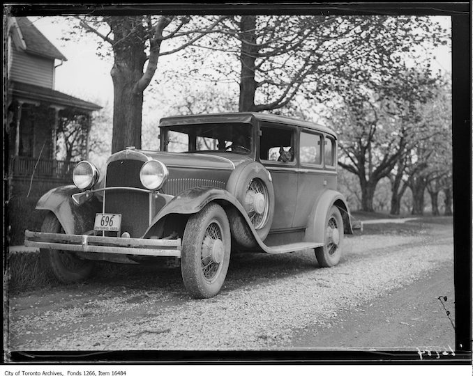 Grimsby, car, close, Tinker. - May 12, 1929