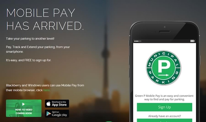 Grren Pay Mobile Pay Toronto Apps
