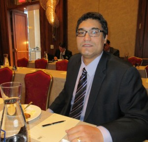 Kellman Meghu at Checkpoint Security Breakfast at Ritz