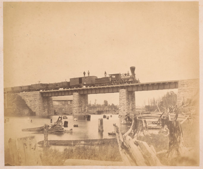 N.R.C., bridge over Thompson's Creek, no. 21 - 1858-63