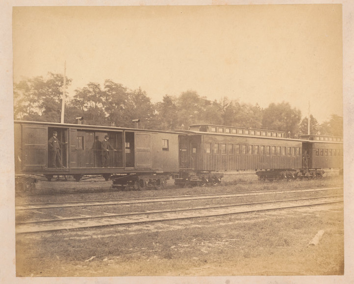 N.R.C., part of passenger train, no. 27 - 1858-63