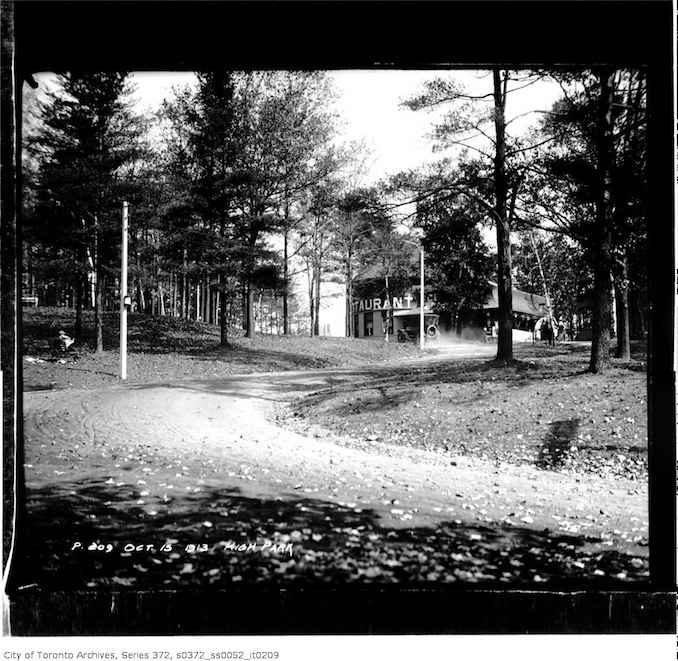 October 15, 1913 - High Park — Vintage Restaurant Photographs