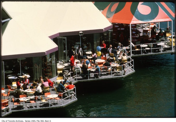 Ontario Place restaurant patio - 80-84