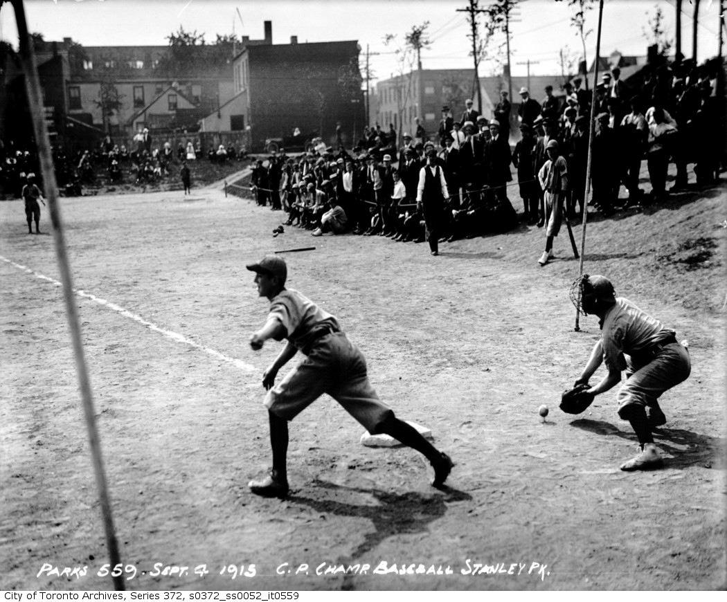 Stanley Park — Baseball Championships sept 4 1915