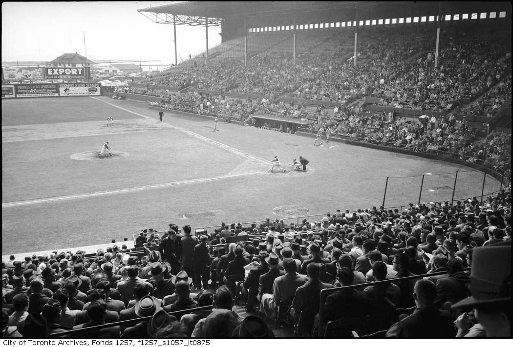 Toronto Maple Leafs (Baseball ) Season Opener may 3 1961