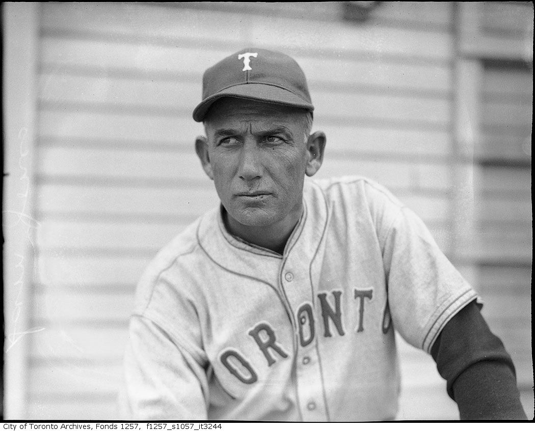 Toronto Maple Leafs Baseball club member, possibly Sam Jones 1940 1960