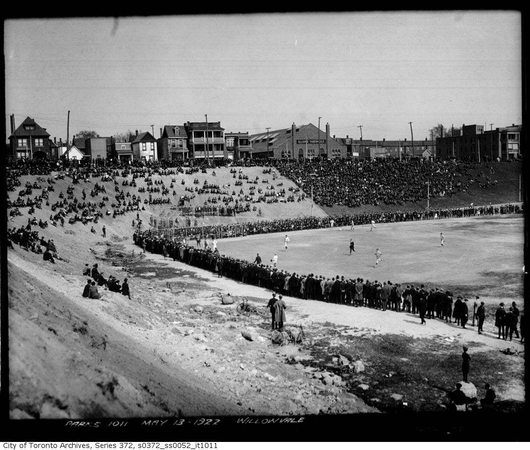 Willowvale Park — baseball may 13 1922
