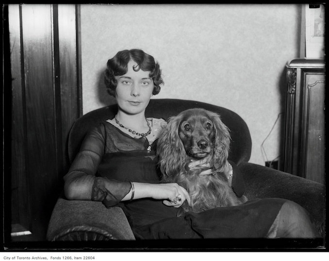 Winter Fair, Gay Air Barry, Bernice Wilson, 24 [Tishester], Hill 1562 - November 23, 1930 - Vintage Animal Photographs