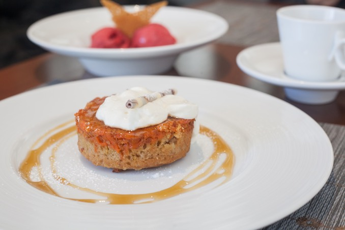 CARROT HALVA UPSIDE-DOWN CAKE at diwan