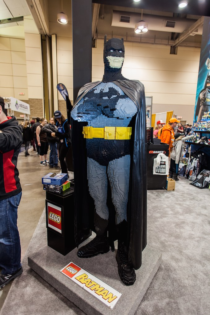 Life Sized Lego Batman