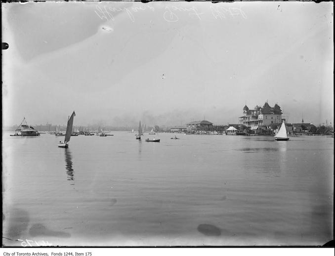 1909? - Hanlan's Hotel and lake