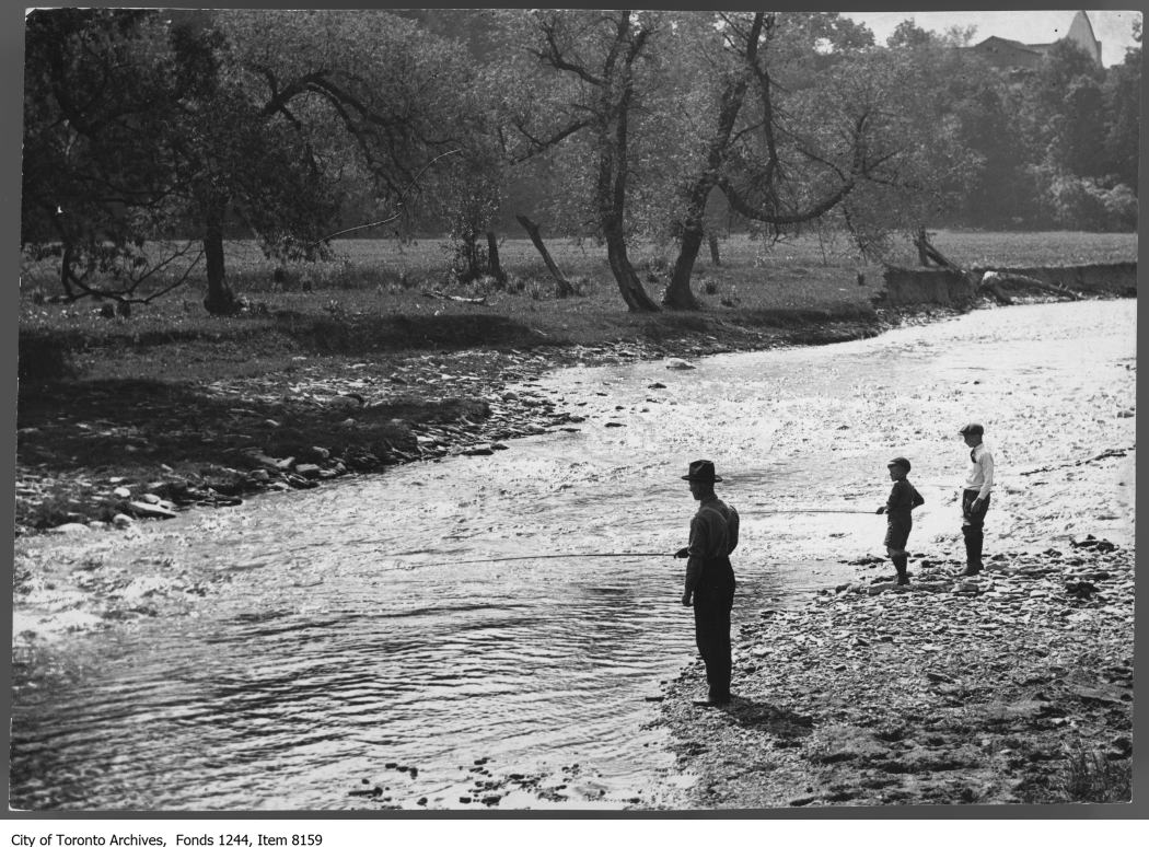 1910 - Fishing on the Don River - Vintage Fishing Photographs