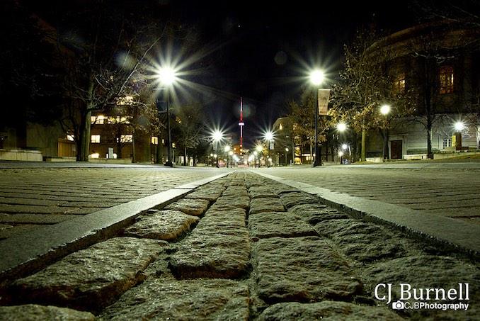 CJ Burnell bumpy road