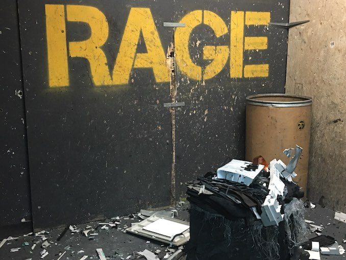 rage room toronto