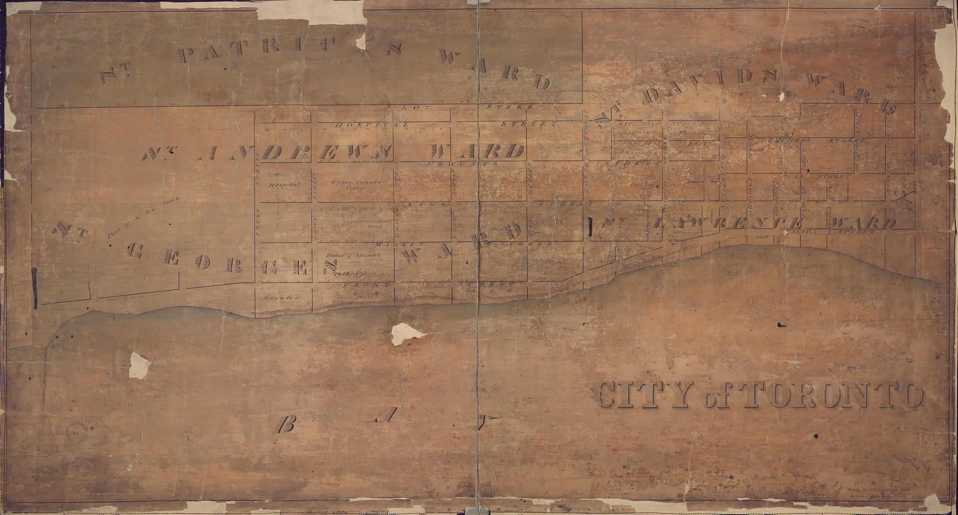 1834, Map