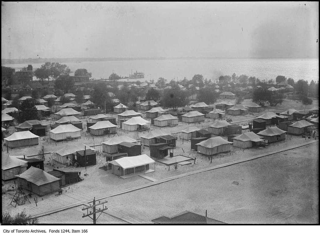 1911 - Tents, Ward's Island