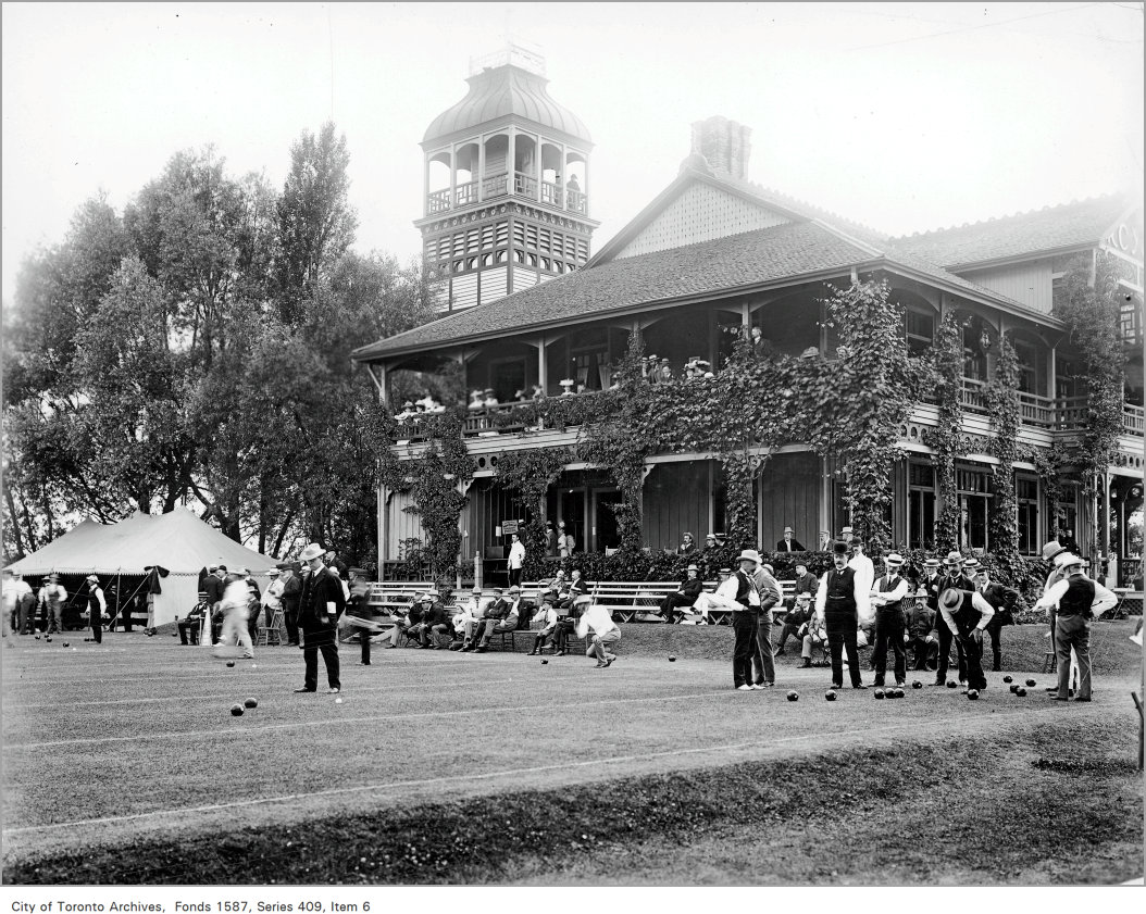 1912 - R.C.Y.C. Centre Island Club House