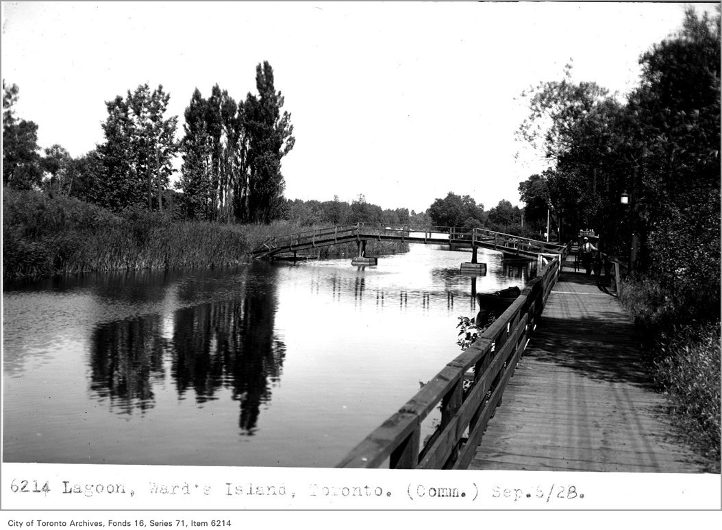 1928 - Lagoon, Ward's Island, Toronto, (Commercial Department)