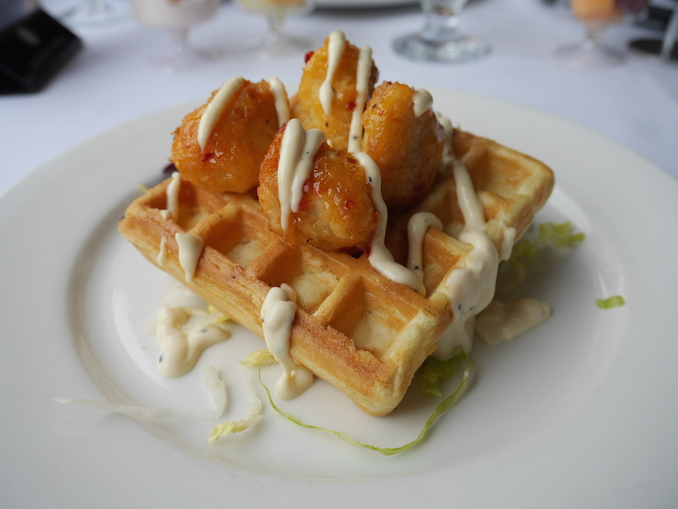 Toronto Harbour brunch with Mariposa Cruises