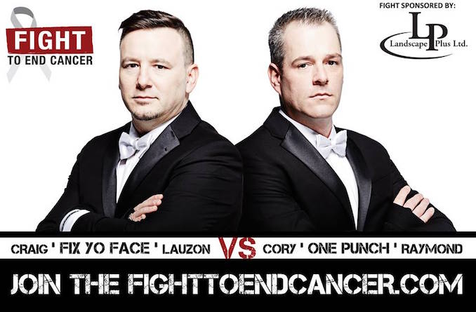 Raymond vs Lauzon - Fight to End Cancer