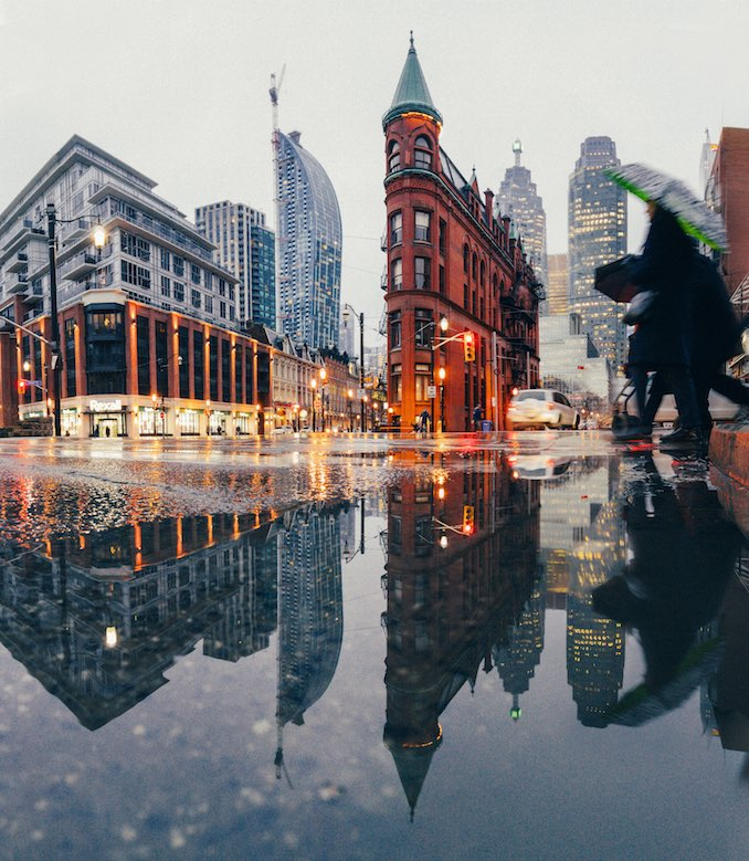 Gooderham building Toronto Photo