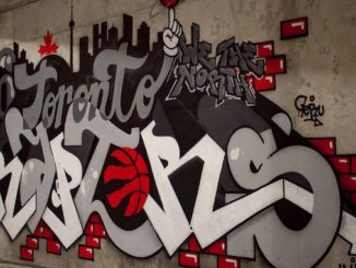Toronto Raptors Graffiti