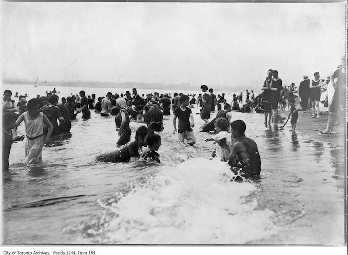 1908 - Bathers, Hanlan's Point