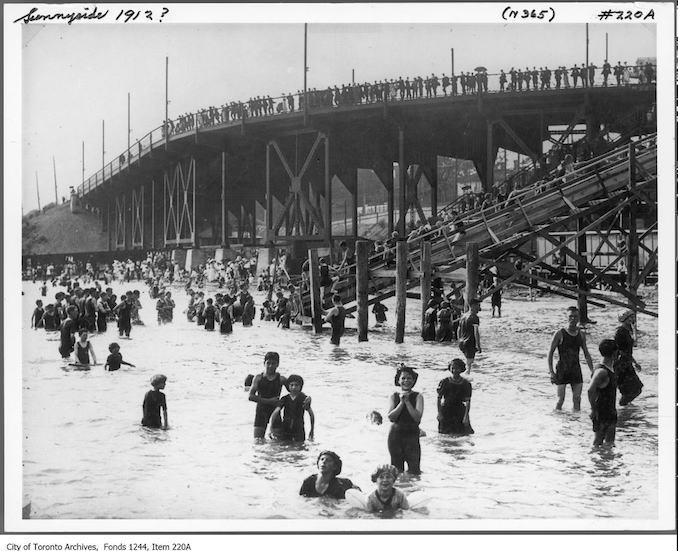 1910? - Bathers at Sunnyside