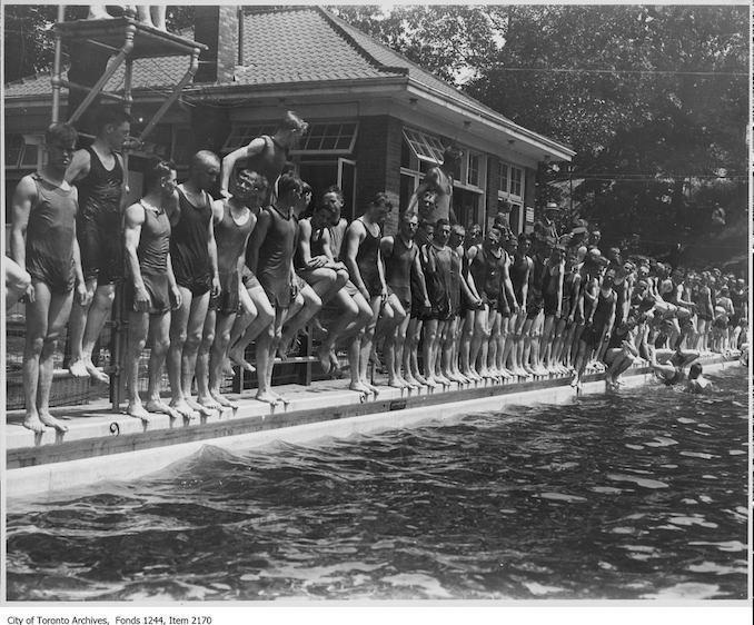 1912? - High Park mineral baths