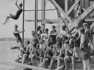 Toronto Swimming Club - vintage swimming photo
