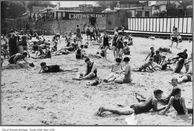 1926 - Crowes Beach, Humber Bay