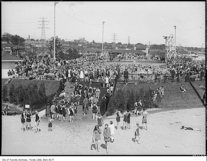 1926 - july - Sunnyside, bathing pool from pavilion