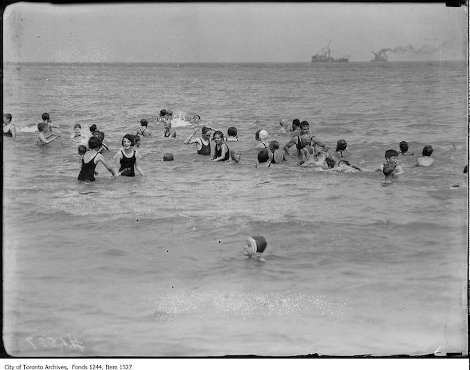 1929? - Swimming in Lake Ontario