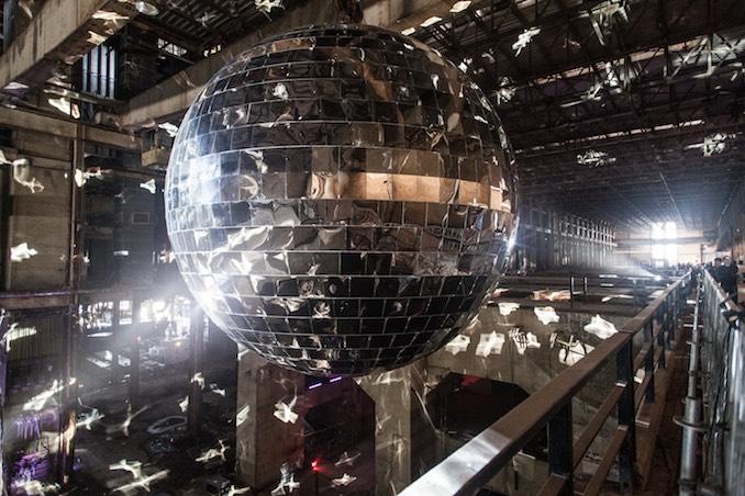 Luminato disco ball Hearn