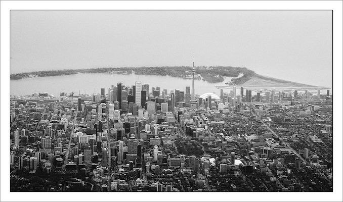 Toronto Skyline Aerial Sanjin Avdicevic